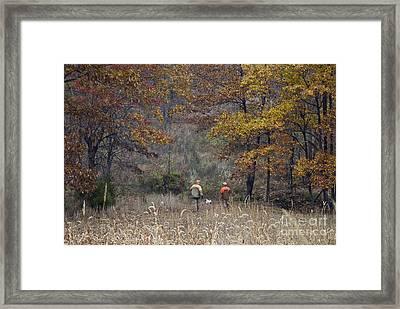 The Uplands - D009296 Framed Print by Daniel Dempster