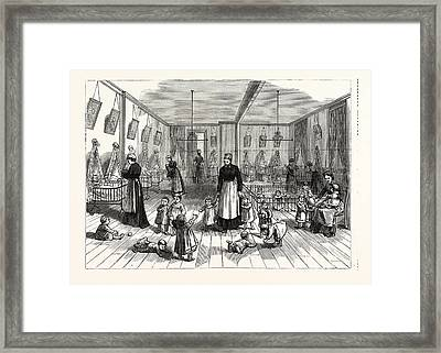 The Upper Creche And Pound For Small Children Framed Print