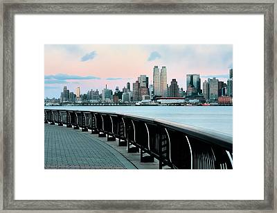 The Upper West Side Framed Print by JC Findley