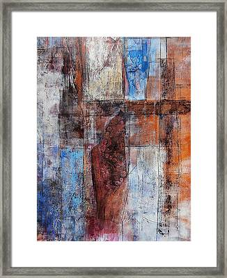 The Urban Frontier Framed Print by Buck Buchheister