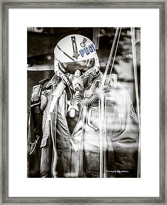 Framed Print featuring the photograph The U.s Airman by Stwayne Keubrick