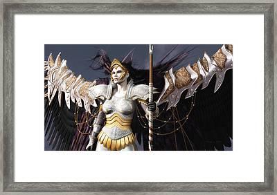 The Valkyrie Framed Print by Melissa Krauss