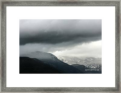 Framed Print featuring the photograph The Valley by Dana DiPasquale