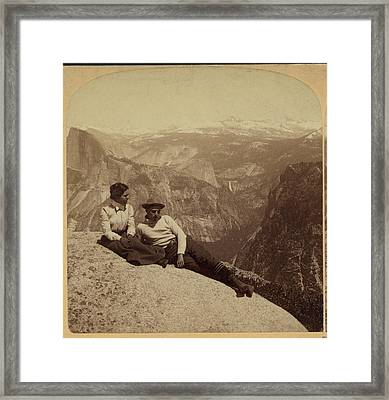 The Valley, Half Dome, Nevada Falls Framed Print