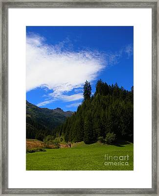 The Valley Of Healing Framed Print