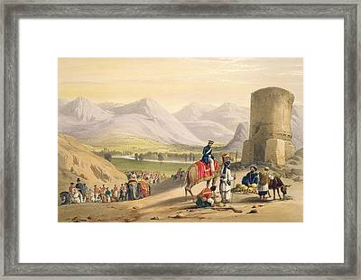The Valley Of Maidan, From Sketches Framed Print by James Atkinson