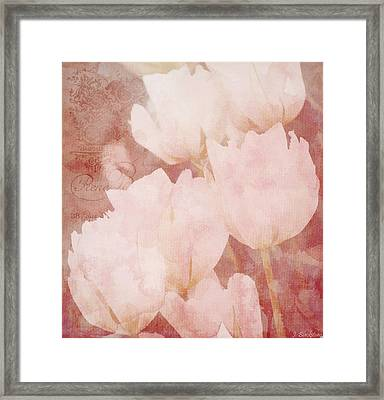 The Value Of A Moment - Vintage Art By Jordan Blackstone Framed Print by Jordan Blackstone