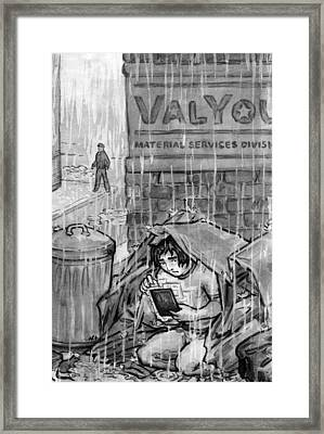 The Valyou Of Human Life Framed Print