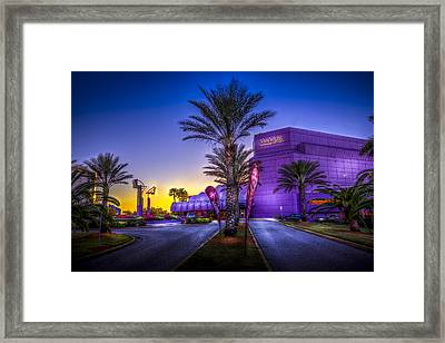 The Van Wezel Framed Print