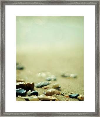 The Vanishing Framed Print by Rebecca Sherman