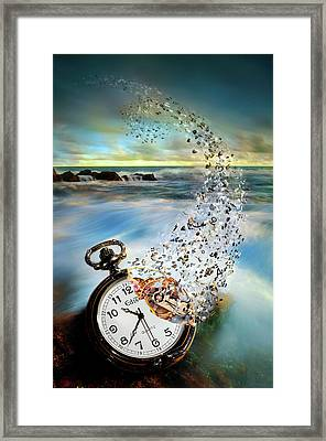 The Vanishing Time Framed Print