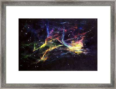 The Veil Framed Print by Marie Green