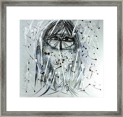 The Veiled Woman Framed Print