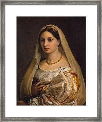The Veiled Woman Framed Print