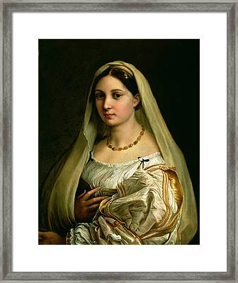 The Veiled Woman Framed Print by Celestial Images