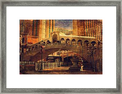 The Venetian  Framed Print