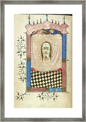 The Vernicle Framed Print by British Library