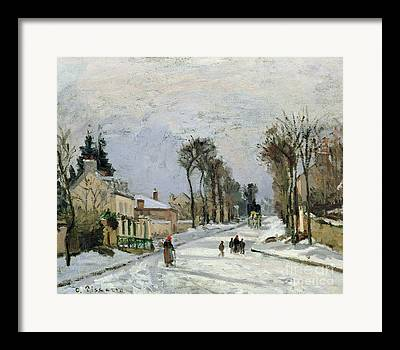 Camille Pissarro Paintings Framed Prints
