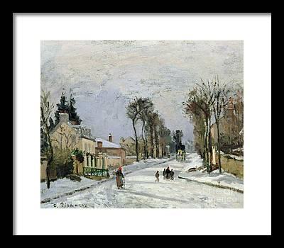 Camille Pissarro Framed Prints