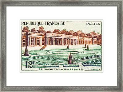The Versailles Versailles-grand Framed Print by Lanjee Chee