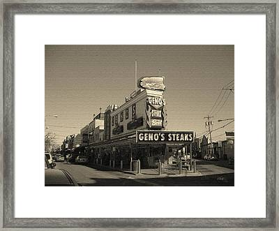 The Very Best Framed Print by Gordon Beck