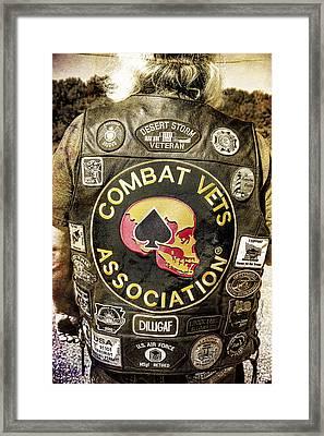 The Vest Framed Print