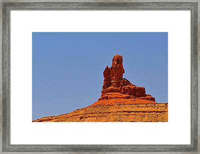 The Vibe Of Valley Of The Gods Utah Framed Print