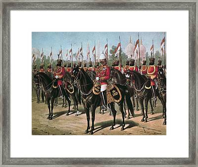 The Viceroys Bodyguard, Printed In Our Framed Print by Richard Simkin
