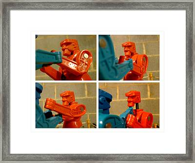 The Victor Framed Print by Richard Reeve
