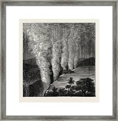 The Victoria Falls Of The Zambesi Framed Print