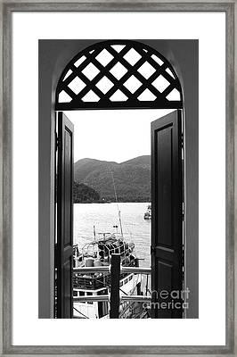 The View Framed Print by Andrea Anderegg