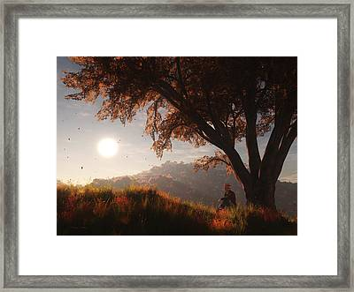 The View From Here Framed Print by Melissa Krauss