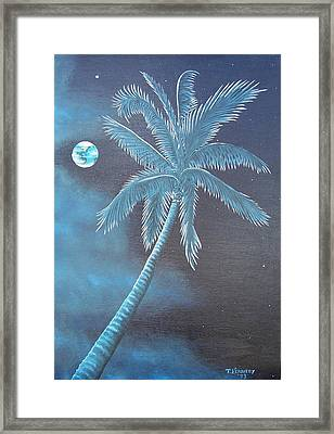 The View From Paradise  Framed Print