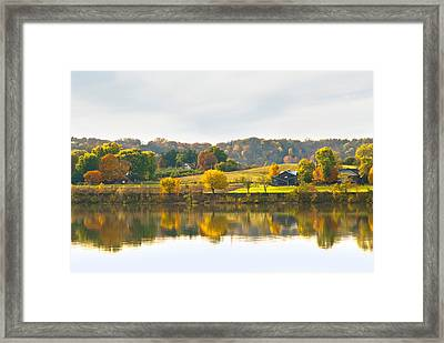 The View From Rabbit Hash Framed Print by Jeanne Sheridan