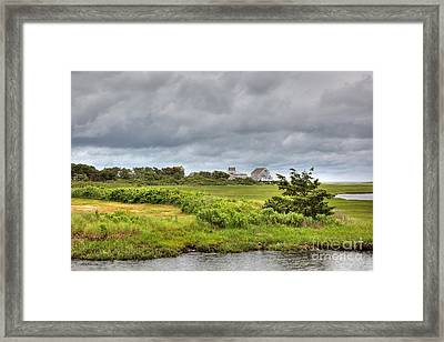 The View From The Bridge Framed Print