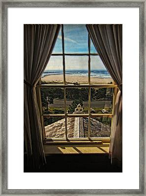 The View From The Lighthouse Framed Print