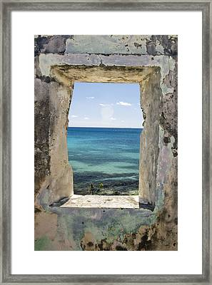 Framed Print featuring the photograph The View by Heather Green