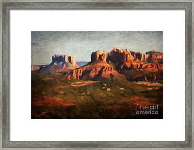 The View Framed Print by Jon Burch Photography