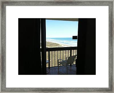 The View  Framed Print by Jonathan Jobickson