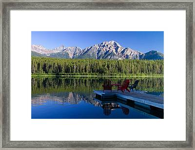 Framed Print featuring the photograph The View by Phil Stone
