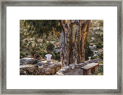 The View Framed Print by Photographic Art by Russel Ray Photos