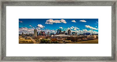 The View That Made Milwaukee Famous Framed Print by Randy Scherkenbach