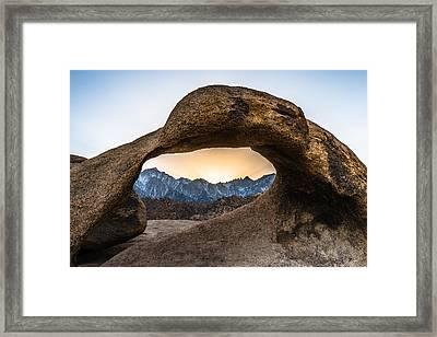The Viewfinder Framed Print