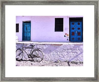 The Village House Framed Print by Makarand Purohit