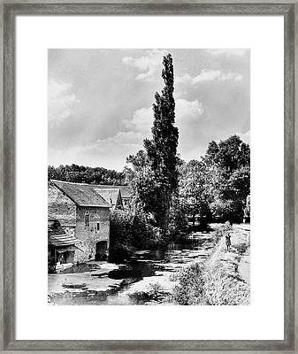 The Village Of Illiers-combray In France Framed Print