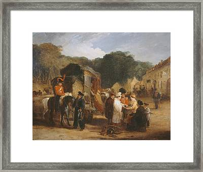 The Village Of Waterloo Framed Print