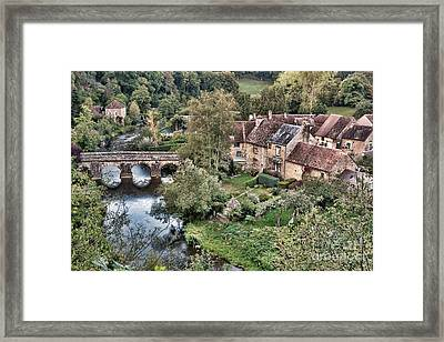 The Village Framed Print by Olivier Le Queinec