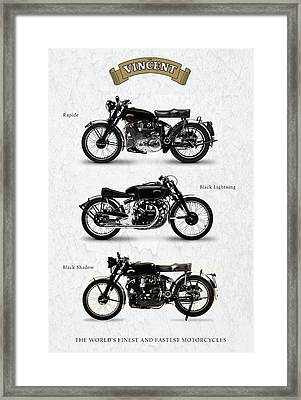 The Vincent Collection Framed Print by Mark Rogan