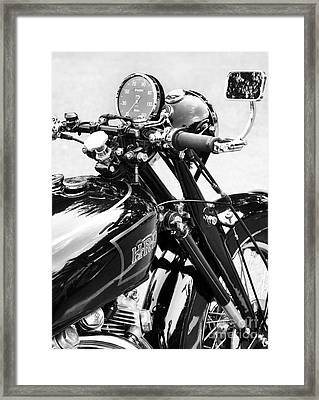 The Vincent Monochrome Framed Print by Tim Gainey
