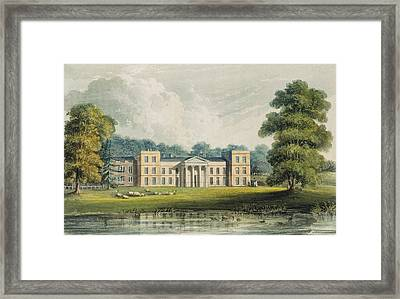 The Vine From The Lake, From Ackermanns Framed Print